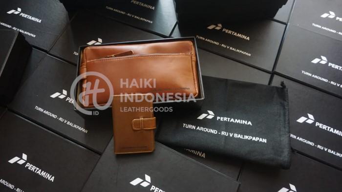 paket seminar kit card holder kulit