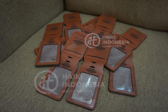 souvenir tempat id card kulit premium