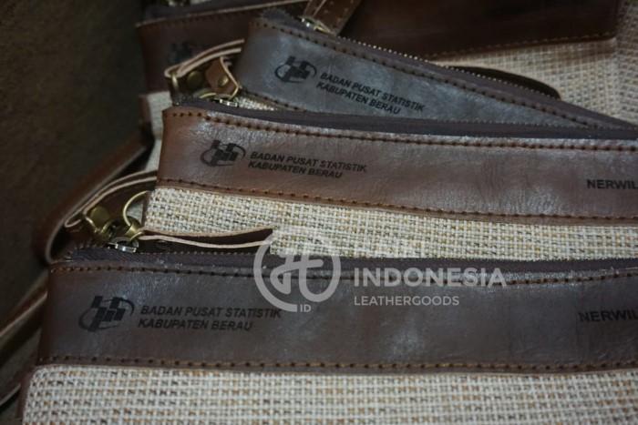 handbag pouch kulit kain woll