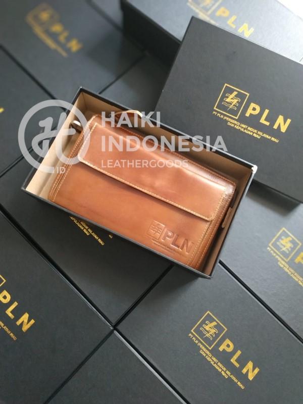 souvenir dompet kulit asli