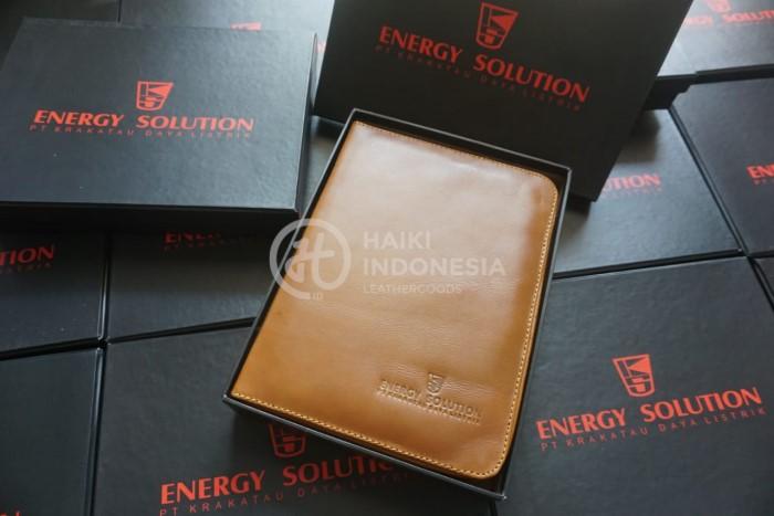 Desain Model Custom Sampul Buku Organizer Perusahaan Krakatau Steel