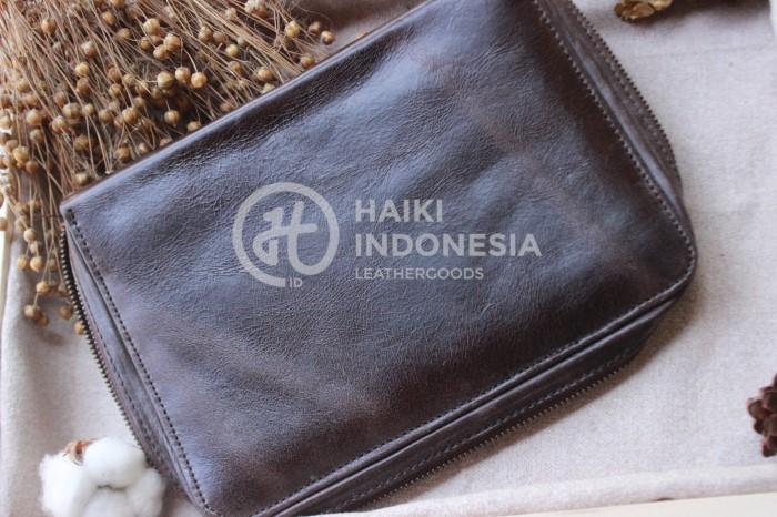 Rekomendasi Souvenir Pouch Bag Kulit Original Untuk Event Bank Mandiri