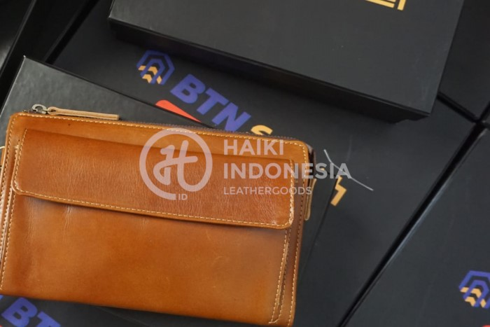 souvenir ulang tahun kantor pajak pouch bag