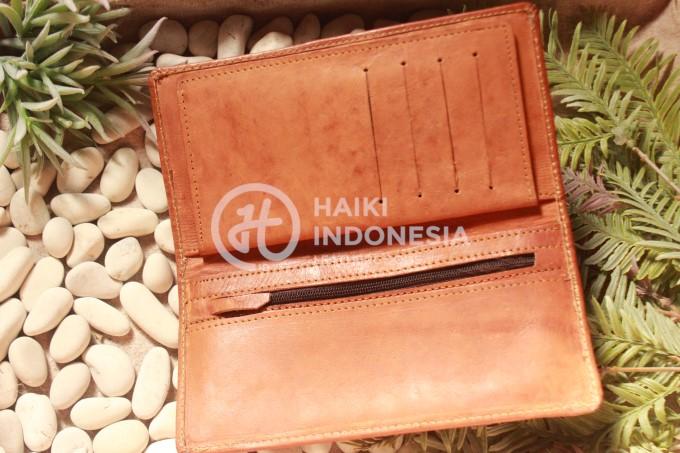 dompet kulit asli souvenir promosi hari antri korupsi