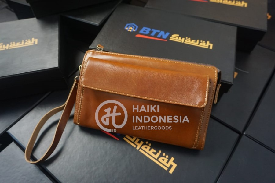 tas pouch promosi bank indoensia