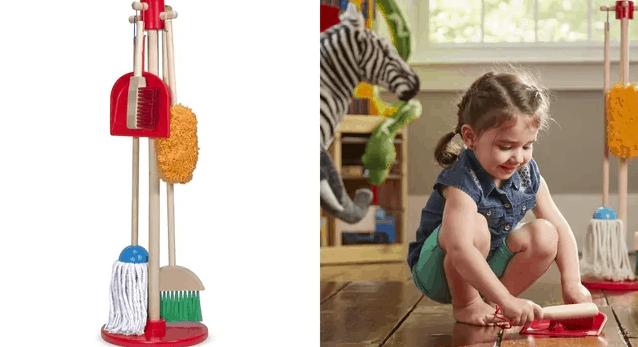 mainan anak bersih bersih